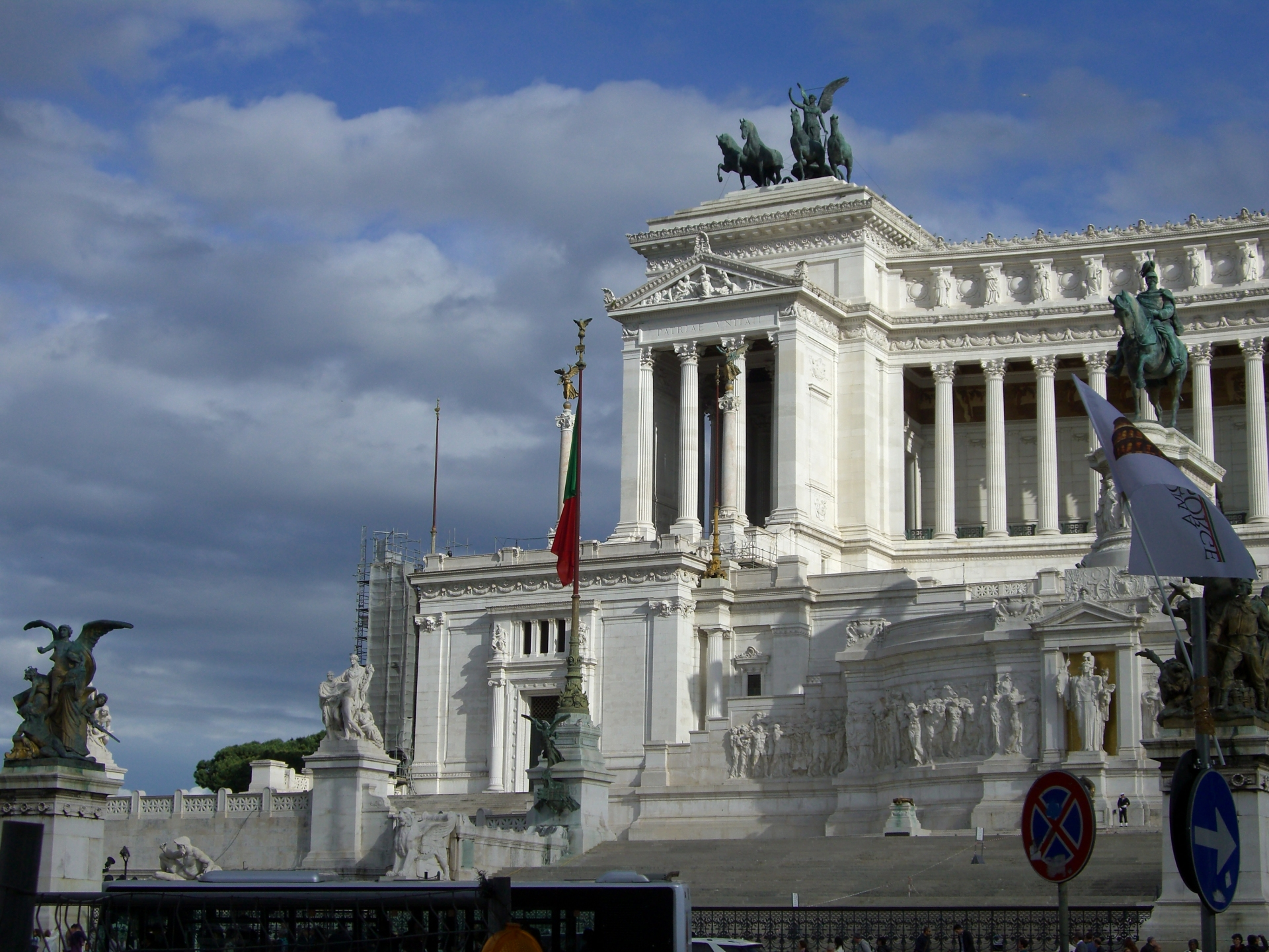 The Vittorio Emanuele II Monument