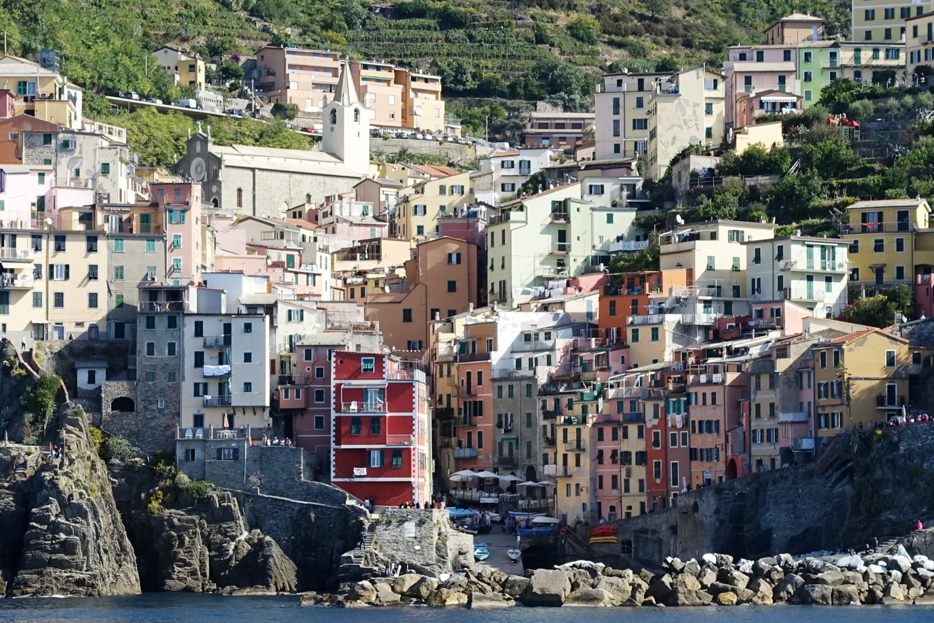One of the Cinque Terre Villages