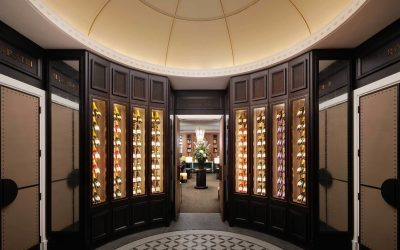 Wine Room at The Carriage House
