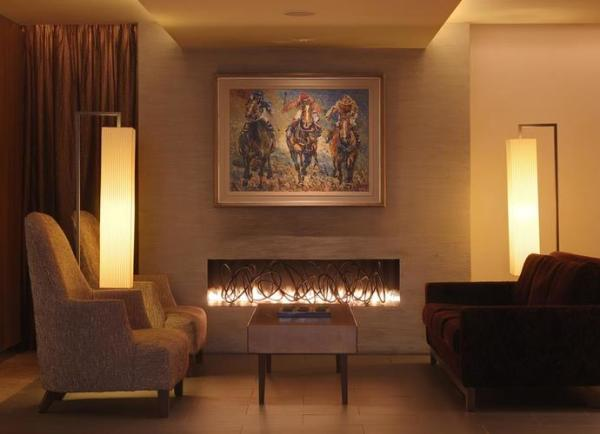 The Lobby Fireplace